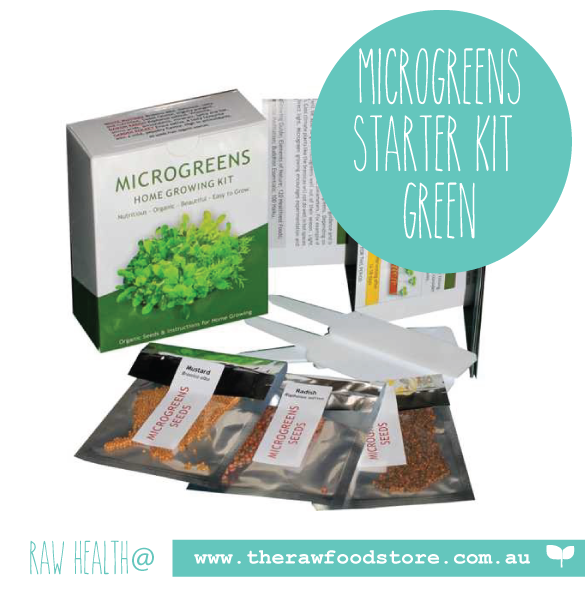 Microgreens Home Growing Kit (GREEN pack)