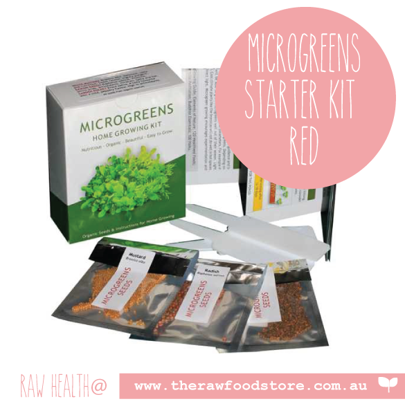 Microgreens Home Growing Kit (Red pack)