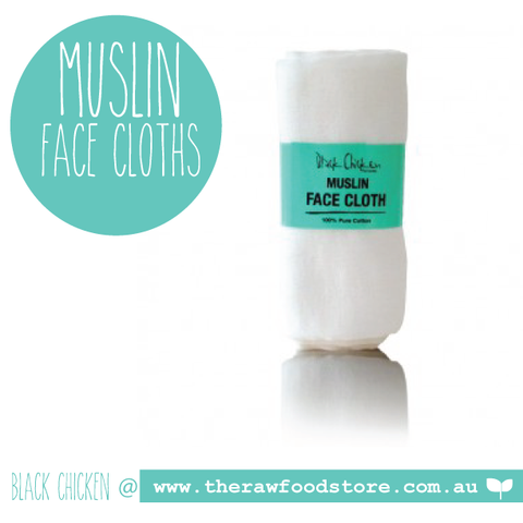 Muslin Face Cloth - Pack (includes 2 cloths)