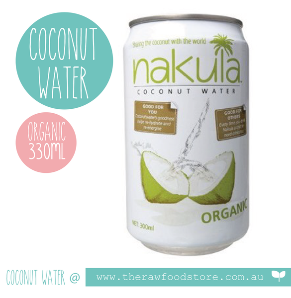 Nakula Coconut Water - Available at The Raw Food Store