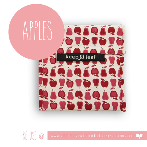 Keep Leaf Reusable Lunch Bags - Apples