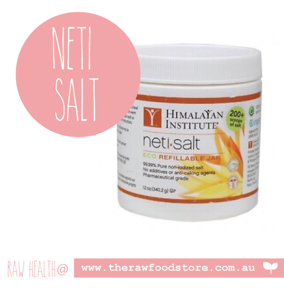 Himalayan Institute Neti Salt 340g at The RawFood Store