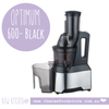 OPTIMUM 600 BIG-MOUTH COLD PRESS JUICER -