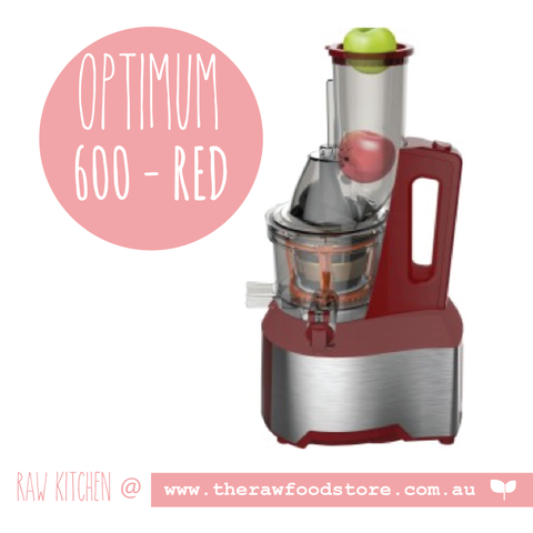 OPTIMUM 600 BIG-MOUTH COLD PRESS JUICER - OUT OF STOCK
