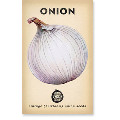 Onions 'Gladalan White' Heirloom Seeds