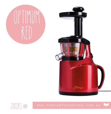 Optimum 400 Juicer - Red
