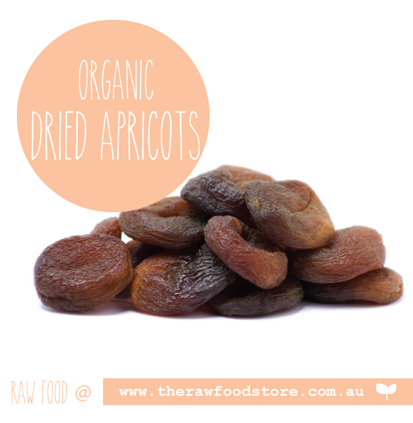 Apricots - Organic Dried at The Raw Food Store