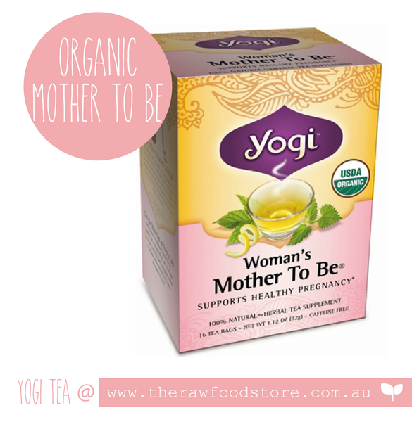 Yogi Organic Tea at The Raw Food Store