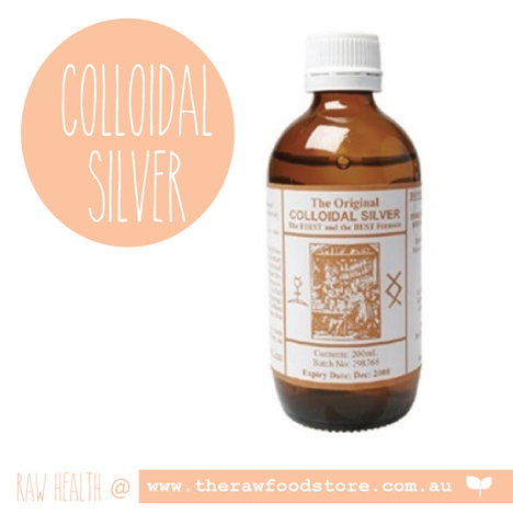 Original Colloidal Colloidal Silver 200ml at The Raw Food Store