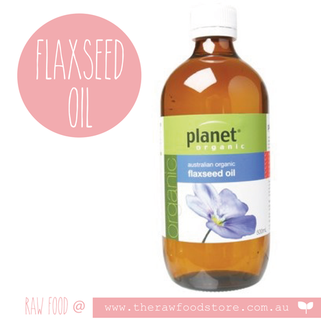 Planet Organic Flax Seed Oil 500ml