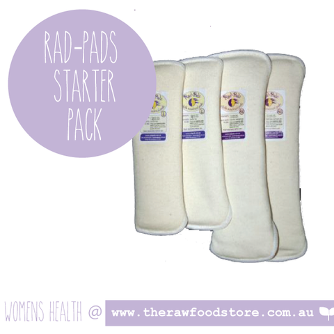 Rad-Pads - Cotton Cloth menstrual pads - Starter Pack
