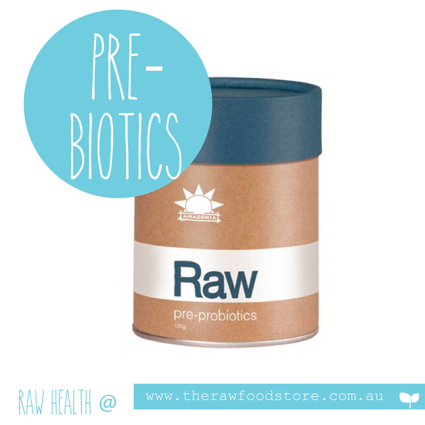 AMAZONIA - RAW Pre-Probiotics With Over 13 Organic Living Strains 120g
