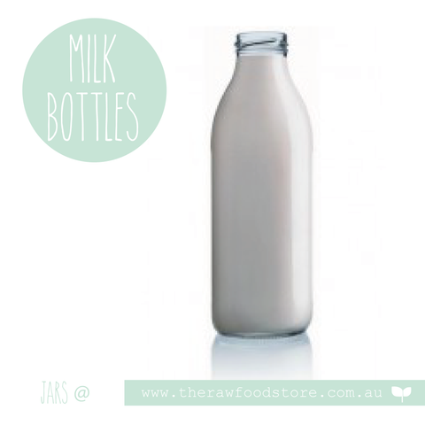 Bottles with lid - Milk/Kombucha Bottles