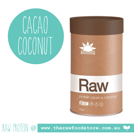 Amazonia RAW Protein Isolate - CACAO COCONUT 500g at The Raw Food Store