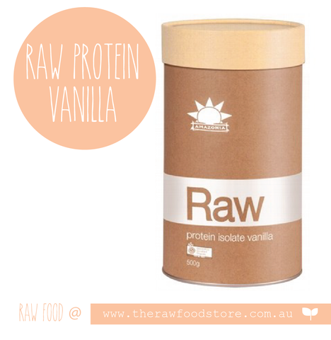 Amazonia  RAW Protein Isolate - VANILLA