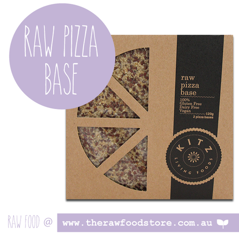 Kitz Raw Pizza Base (Box of 2) 120g