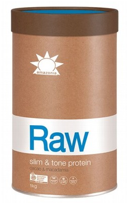 Amazonia RAW Protein Isolate - SLIM & TONE  - Cacao and Macadamia