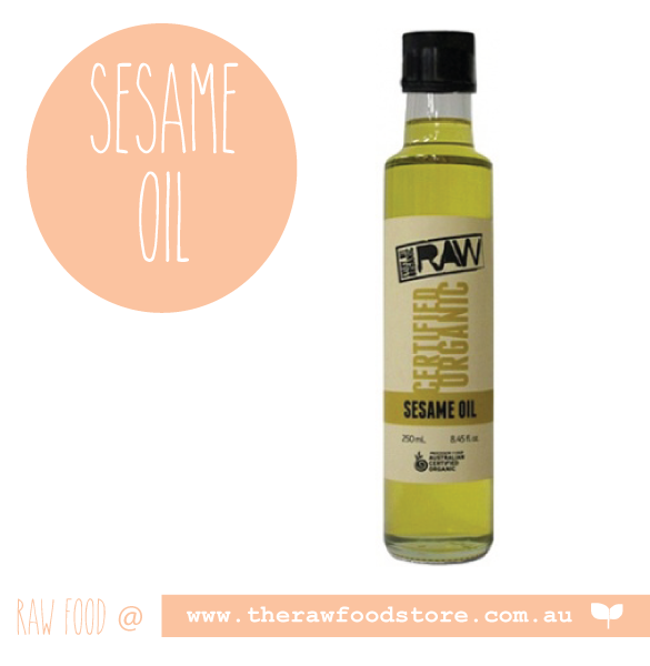EVERY BIT ORGANIC RAW Sesame Oil 250ml
