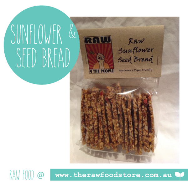 Raw Sunflower Seed Bread 125g