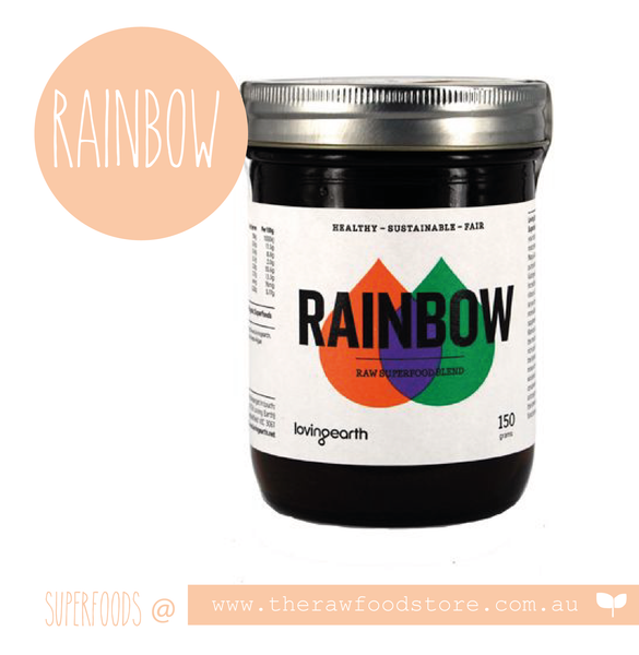 Rainbow Superfood blend at The Raw Food Store Australia