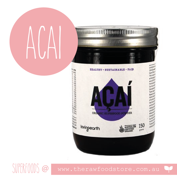 ACAI - Loving earth at The Raw Food Store