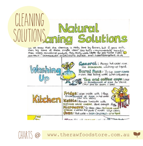 Natural Cleaning Wall Chart