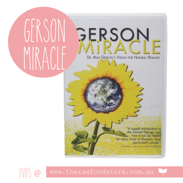 Gerson Miracle DVD