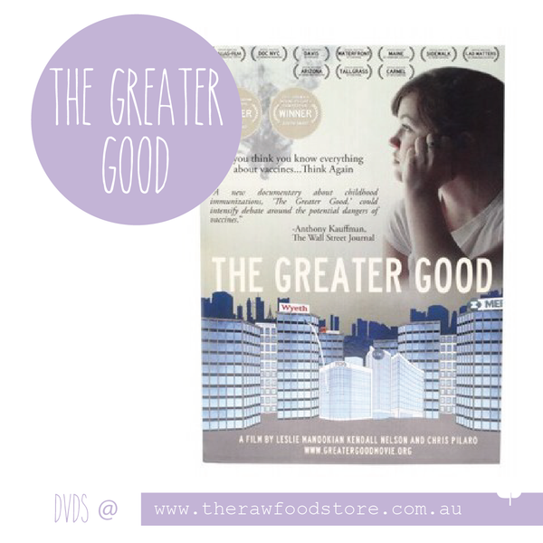 The Greater Good DVD