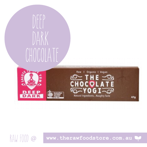 The Chocolate Yogi - Deep Dark Chocolate 47g