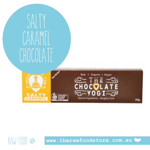 The Chocolate Yogi -  Salty Caramel Chocolate 47g