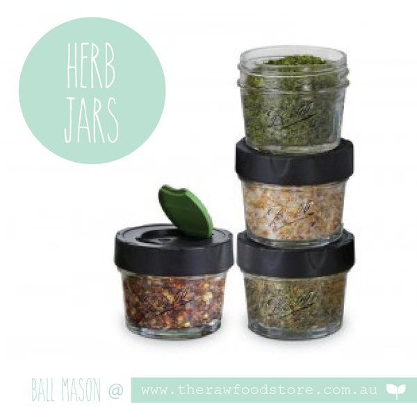 Herb & Spice Storage Jars - Ball Mason - pack of 4 ***DISCONTINUED**