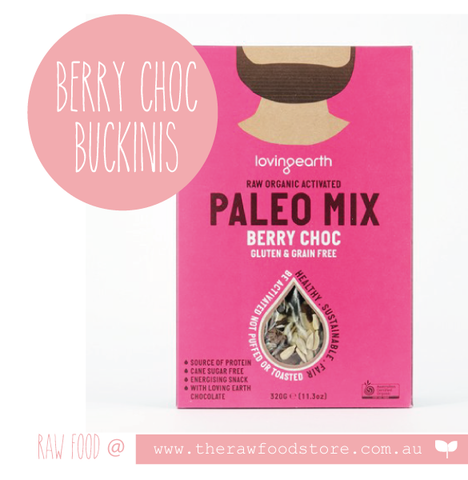 Paleo - Berry Choc Mix - 320g - Loving Earth