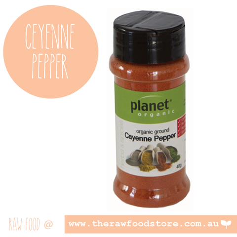 Ceyenne Pepper - Planet Organic- 40g