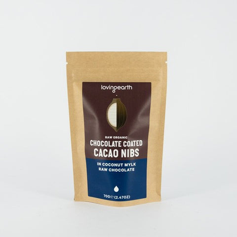 Loving Earth Chocolate Coated Cacao Nibs
