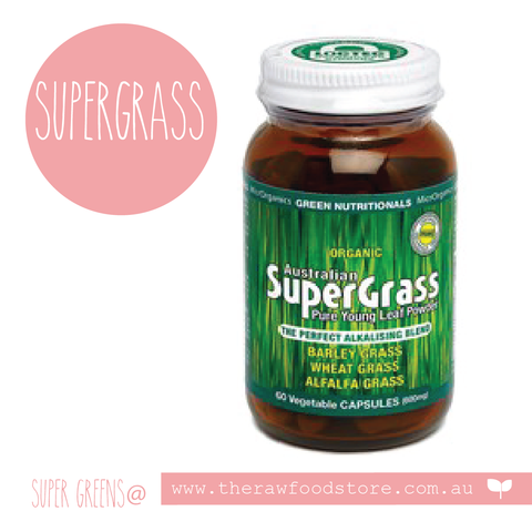 Supergrass 200g  - GREEN NUTRITIONALS