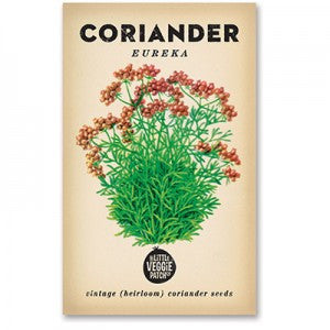 "Coriander ""Eureka"" Heirloom Seeds"