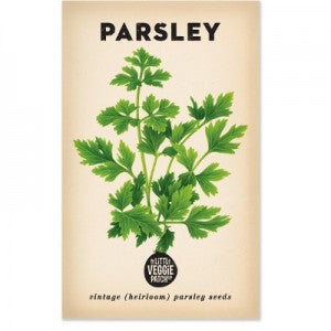Parsley 'Italian' Heirloom Seeds