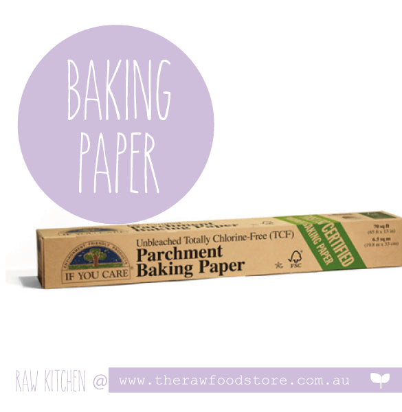 If You Care Unbleached Chlorine Free Parchment Baking Paper Roll - 21m
