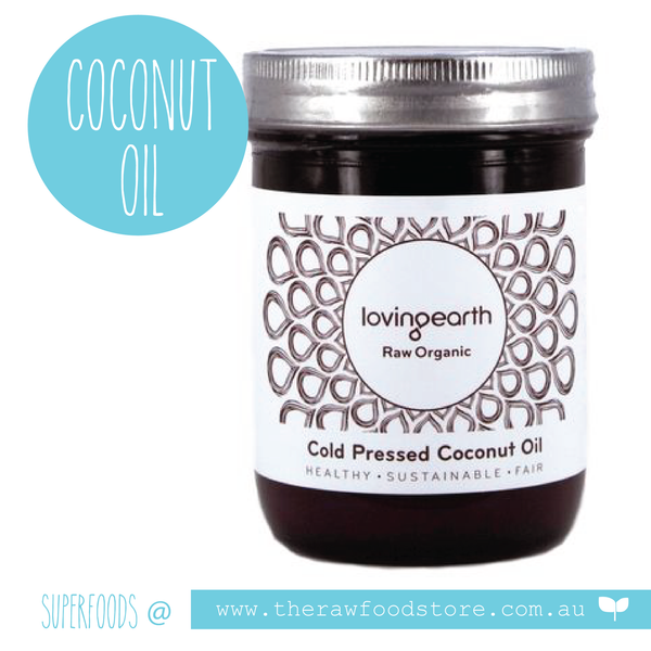 Loving Earth Cold Pressed Coconut Oil - 450ml