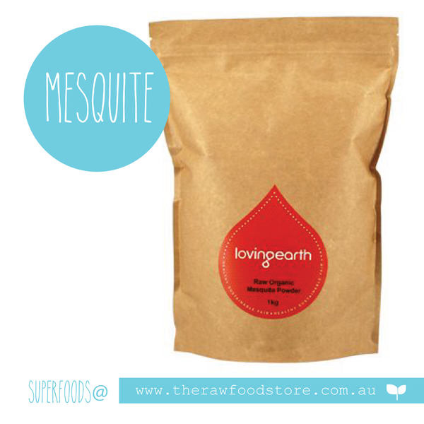 Mesquite Powder - Raw Organic  - 250g