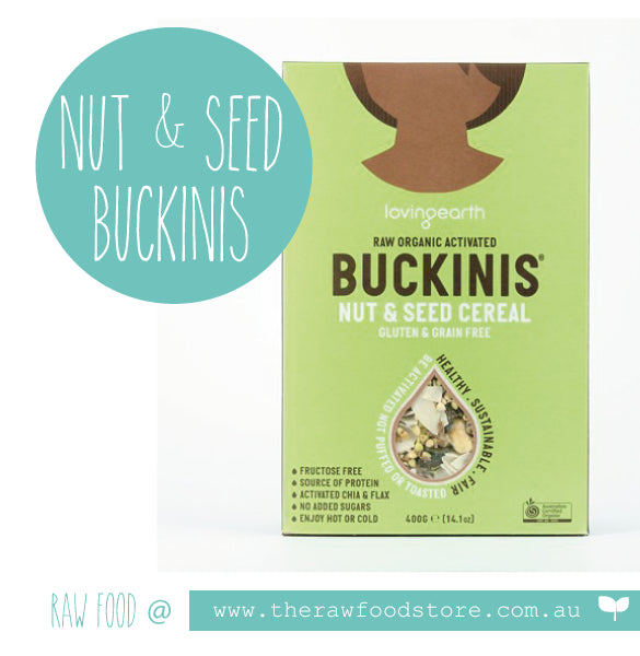 Loving Earth Buckinis  Nut & Seed Cereal - 400g