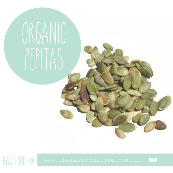 Pepitas Raw - ORGANIC 200grams