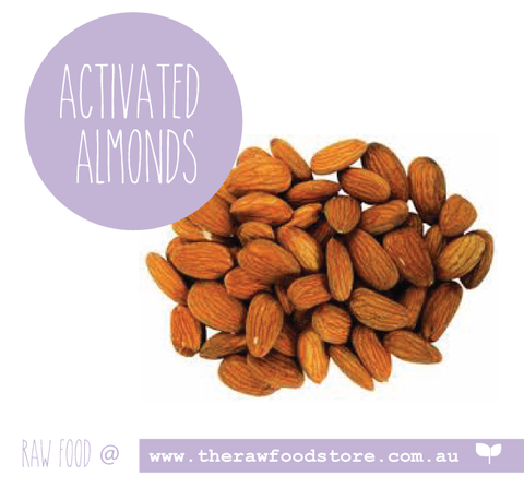 ACTIVATED Almonds - ORGANIC