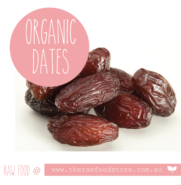 organic dates at The Raw Food Store
