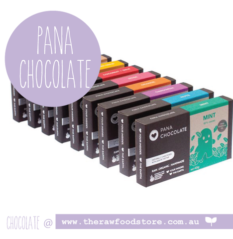 Pana - Raw Organic Hand Made Chocolate at The Raw Food Store