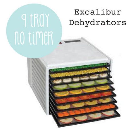 Exacalibur Dehydator 9 Tray - NO TIMER Temp out of stock ETA mid August