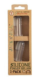 JACK N' JILL Silicone Baby Toothbrush - Stage 3