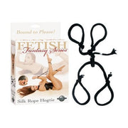 Fetish Fantasy Series Silk Rope Hogtie