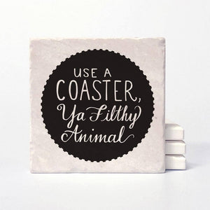 Filthy Animal Coasters