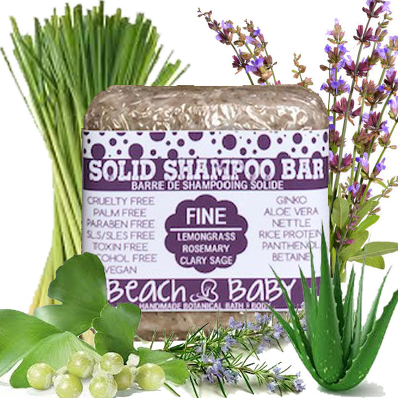 Solid Shampoo Bar - Fine Hair